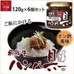 ご飯にかける飛騨牛ハンバ具ー ポン酢風味 120g×6個セット