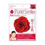 PureSmile ピュアスマイル エッセンスマスク 化粧水タイプ 30枚セット ローズ 005
