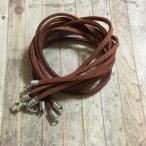 50cm スエード 革紐 ネックレス ブラウン 5本セット