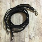 50cm スエード 革紐 ネックレス ブラック 5本セット