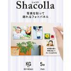 【在庫目安:お取り寄せ】 富士フイルム WD KABE-AL KG 5P 『壁アルバム』用フォトパネル shacolla(シャコラ) 壁タイプ KGサイズ 5パック