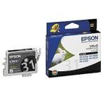 【在庫目安:僅少】EPSON  ICBK31 メーカー純正 インクカートリッジ ブラック (PX-V600用)