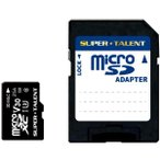 Yahoo!PodPark Yahoo!店【在庫目安:お取り寄せ】スーパータレント  ST56MSU3PD UHS-I 高耐久 3D MLC NAND採用 microSDXCメモリーカード 256GB Class10 変換アダプタ付