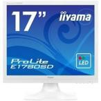 【在庫目安:あり】iiyama  E1780SD-W1 17型液晶ディスプレイ ProLite E1780SD ピュアホワイト