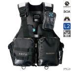 シマノ XEFO・アクトゲームベスト VF-274R L ブラック(東日本店)