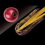 ジャッカル タングステン鯛カブラ ビンビン玉 スライド 120g レッドレッド/エビオレゴールド