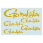 がまかつ(Gamakatsu) カッティング反射ロゴステッカー GM−2082 ヒッキタイロゴ