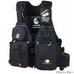 オレンジブルー マズメ MZX タイドマニアライフジャケット MZXLJ-049 フリー ブラック×ブルー