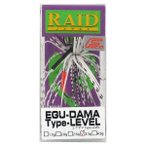 レイドジャパン EGU-DAMA Type-LEVEL 3.5g 008.スモーキーパール