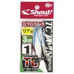 シャウト TCツインスパーク 340TT 3cm #1【ゆうパケット】