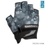 シマノ 3D・アドバンスグローブ5 GL-022S M ブラックウィードカモ【ゆうパケット】