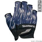 シマノ 3D・アドバンスグローブ5 GL-022S M ネイビーグラスカモ【ゆうパケット】