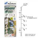 ハヤブサ 落し込みスペシャル ケイムラ&ホロフラッシュ 強靭イサキ鈎4本鈎 SS429 針11号-ハリス16号