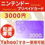 ニンテンドープリペイド 3000円  ヤフーマネー使用可 配送専用