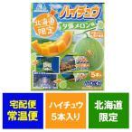 北海道限定 ハイチュウ 夕張メロン 森永製菓のチューイング キャンディ ハイチュウ 夕張メロンの果汁入 5本入り 価格 648 円