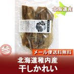 鰈魚 - 「北海道の珍味 かれい 送料無料」酒の肴に 大東食品 北海道産 干しカレイ(干しかれい) 1個(1袋) 「送料無料 メール便 珍味」