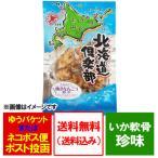 「いか 送料無料 珍味」 珍味 北海道産 真いかの焼きなんこつ 80g 価格 580円「メール便 送料無料 珍味 いか」