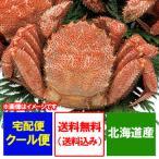 けがに 北海道産 毛蟹 送料無料 毛ガニ 浜茹で毛がに 380g〜400g×1尾 価格3980円 かに ギフト 蟹
