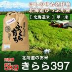 「北海道米 きらら397 5kg 送料無料」 29年産 北海道米 ぴっぷ産 きらら397 5kg「送料無料 米」