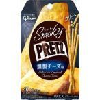 グリコ スモーキープリッツ 燻製チーズ味 14入