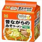 東洋水産 マルちゃん 昔ながらのみそラーメン(袋) 5食×6入