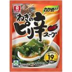 理研ビタミン わかめスープ ねぎのピリ辛 3袋×10入