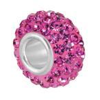 Bauble LuLu beads  Roxy Pink、パンドラ(Pandora)、トロールビーズ(Trollbeads)、カミリア(Chamilia)等幾通りものカスタマイズ可能!
