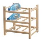 IKEA Original HUTTEN-フッテン- 木製ワインラック 9本用 無垢材