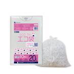 ごみ袋 20L0.015mm厚 半透明 KN-23bara 10枚バラ 1冊36円