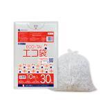 ごみ袋 30L0.015mm厚 半透明 10枚バラ 1冊38円 KN-33bara