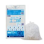 ごみ袋 90L0.025mm厚 半透明 10枚バラ 1冊160円 KN-98bara