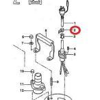 工事排水用ポンプ LB-150用部品 (2)ケーブルクリップ 鶴見製作所