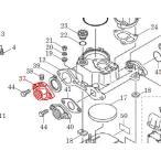 カワエースN3部品 (37) 弁座付ひしフランジ 25  カワエースN3-255,256部品