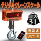 デジタルクレーンスケール 吊秤 3トン 充電式 スケール 秤 秤量 吊りはかり クレーン リモコン A44B