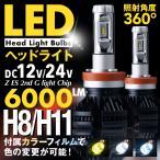 LED ヘッドライト バルブ フォグランプ H8 H11 兼用 CREEチップ 両面発光 2200LM ホワイト イエロー