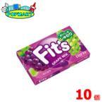 ロッテ Fit's<グレープミックス>12枚×10個   フィッツ
