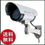 ダミーカメラ 屋外使用可 LED点灯 防犯