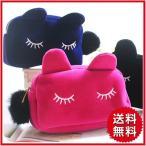 Yahoo!Popular Shopネコ ポーチ 猫 ぬいぐるみ ポーチ ねこ かわいい レディース 小物入れ 化粧ポーチ