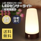 LEDセンサーライト LEDライト 人感センサーライ...