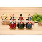 オルゴール くるみ割り人形 サンタクロース 木工品 クリスマス飾り 贈り物 誕生日プレゼント 工芸品 置物ja008o1o1za