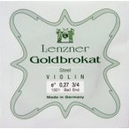 【Lenzner/Goldbrokat】ゴールドブラカットバイオリン弦 1E 0.27 【DM便対応】