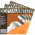 Dominant ドミナントバイオリン弦 2A・3Dシルバー・4Gセット 4/4 【メール便対応商品】