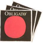 Obligato オブリガードバイオリン弦 2A・3D・4Gセット 分数用 【メール便対応商品】