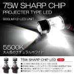 10系 前期 後期 ウィッシュ WISH LED フォグランプ HB4 75W SHARP 6500K/ホワイト 2個/1セット