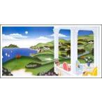 【マックナイト ポスター】海辺のゴルフ(509×959mm)