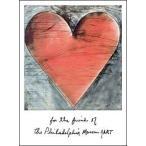 【アートポスター】 ジム・ダイン The Philadelphia Heart(510×687mm)