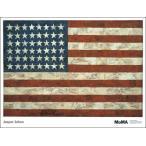 【ジャスパー・ジョーンズ ポスター】Flag, 1954(740×968mm)
