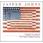 【ジャスパー・ジョーンズ ポスター】Three Flags(661×711mm)