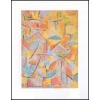 【アートポスター】 子供と叔母 (40cm×50cm) パウル・クレー