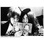 ジョン・レノン&オノ・ヨーコ/ポスター John Lennon & Yoko フレームなし